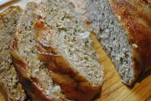 Bacon-Wrapped Meatloaf with Brown Sugar-Ketchup Glaze