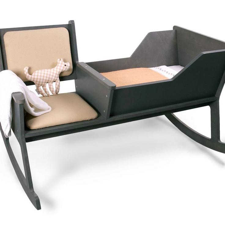 """""""Rockid"""" cradle rocking chair Cunas de diseño"""