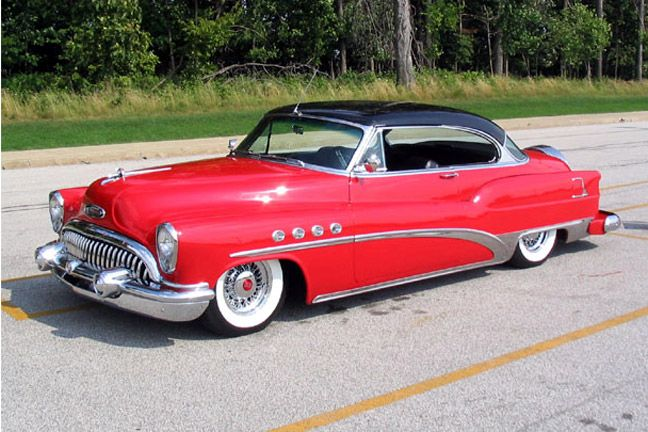 1953 Buick Roadmaster Riviera Car Crazy Pinterest