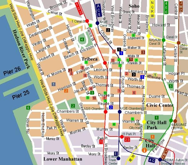 Subway map nyc chinatown zipcode