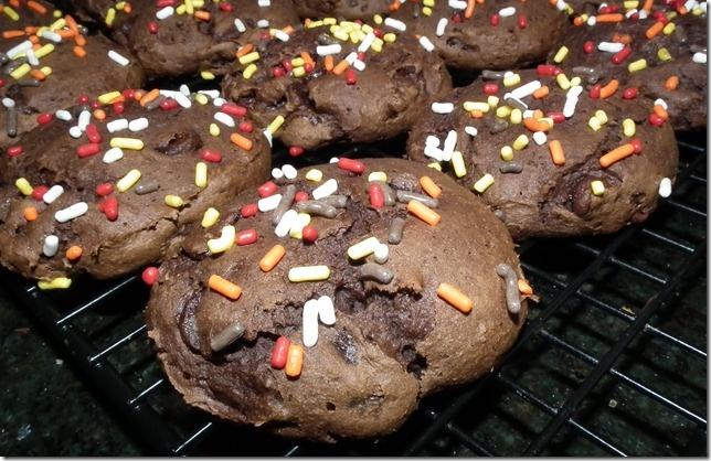 Cake Mix Cookies 1 box Devil's Food Cake Mix, 1 15 oz. can Pumpkin ...