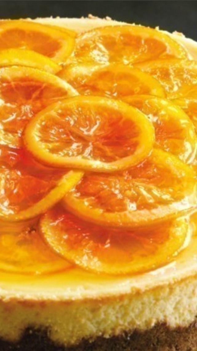 Caramelized Orange Cheesecake | Recipes | Pinterest