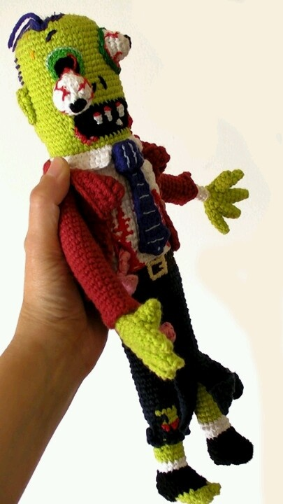 Crochet Zombie Patterns : Zombie Crochet submited images.