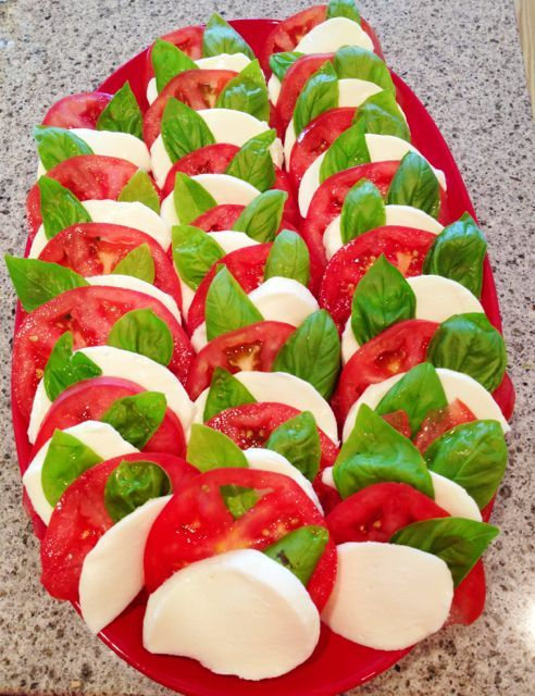 Caprese_Salad_Recipe | Favorite Recipes | Pinterest