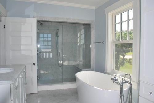 badkamer marmer,wit,lichtblauw