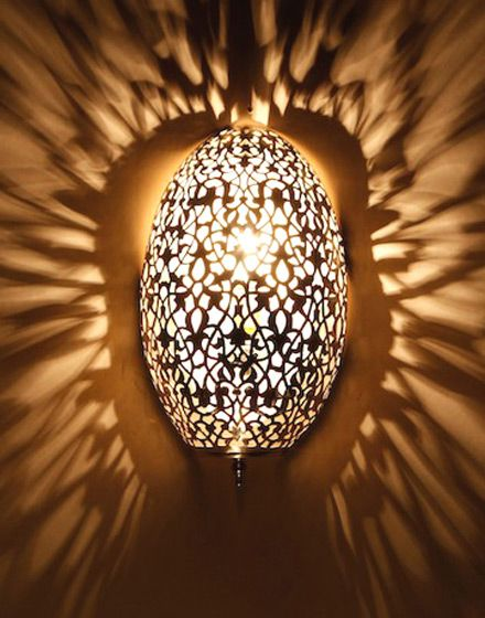 Moroccan Glass Wall Lights : Moroccan Wall Light For the Home Pinterest
