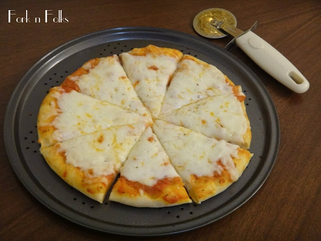 Fork n Folks: New York Style Cheese Pizza and Sauce