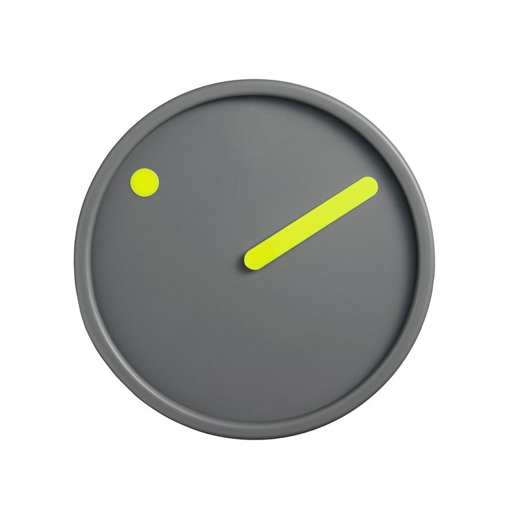 Permanent Link to Minimalist Picto Wall Clock