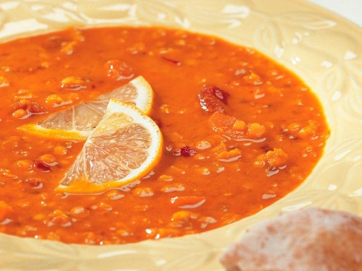 Carrot And Lentil Soup Recipe — Dishmaps