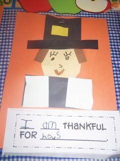 . Woods Kindergarten Class: thanksgiving classroom (art project