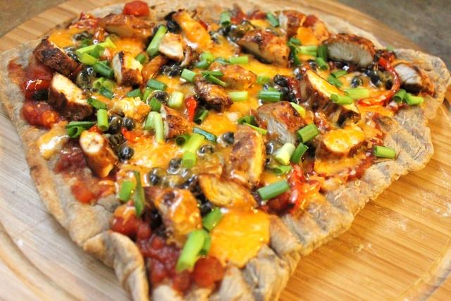 Grilled Chicken Fajita Pizza | Recipes--Pizza | Pinterest