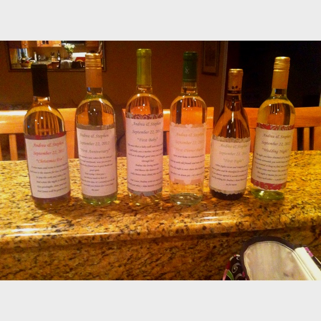 Wedding Night Gift From Bride To Groom : for the bride and groom to open on different occasions! Wedding night ...