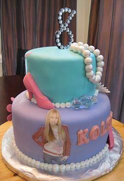 hannah montana cake image