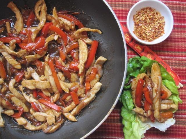 Stirring the Pot: Chicken Stir-Fry Lettuce Wraps