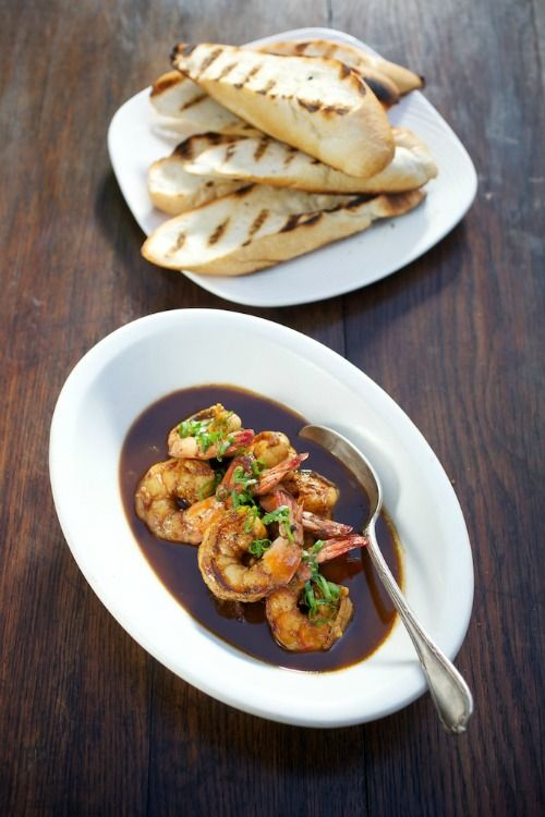 New Orleans-Style Barbecued Shrimp by Chef Jon Bonnell / from Waters ...