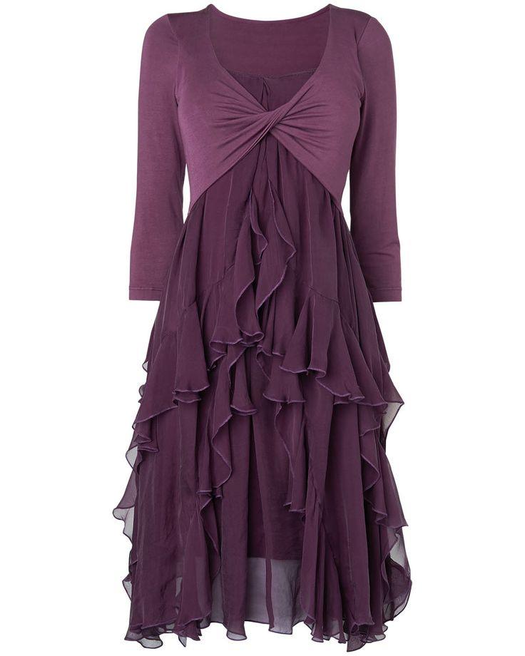 Phase eight women s all sale kells silk jersey dress