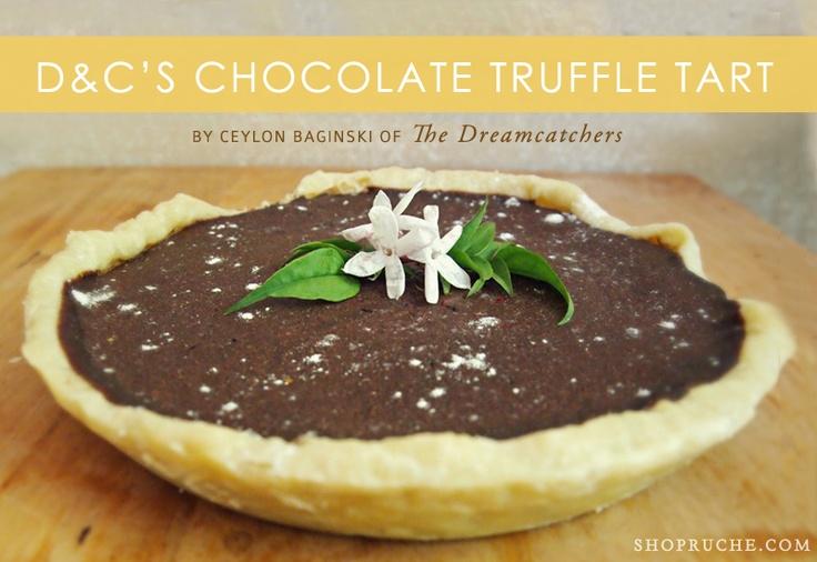 Chocolate Truffle Tart Recipe | Sweet Treats | Pinterest