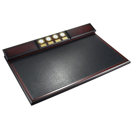 Co, Inc. :: Office :: Desk/Office Accessories :: World Clock Desk Pad
