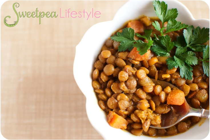 Moroccan Lentils | Vegan food | Pinterest