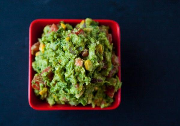 Roasted Corn Guacamole | Recipe