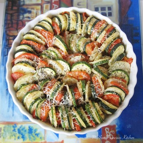 Vegetable Tian | Foods that NOURISH my body.... | Pinterest