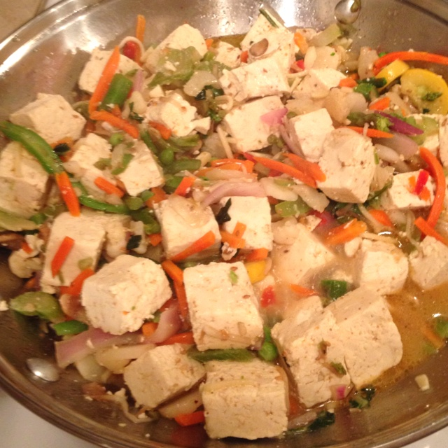 Lime-Curry Tofu Stir-fry Recipes — Dishmaps