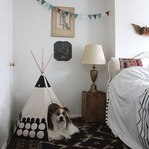 Dog teepee want to make it vegan food pinterest - Tipi para perros ...