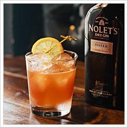 Poinsettia Punch | 2 ounces Nolet's Silver Dry Gin 3/4 ounce fresh ...