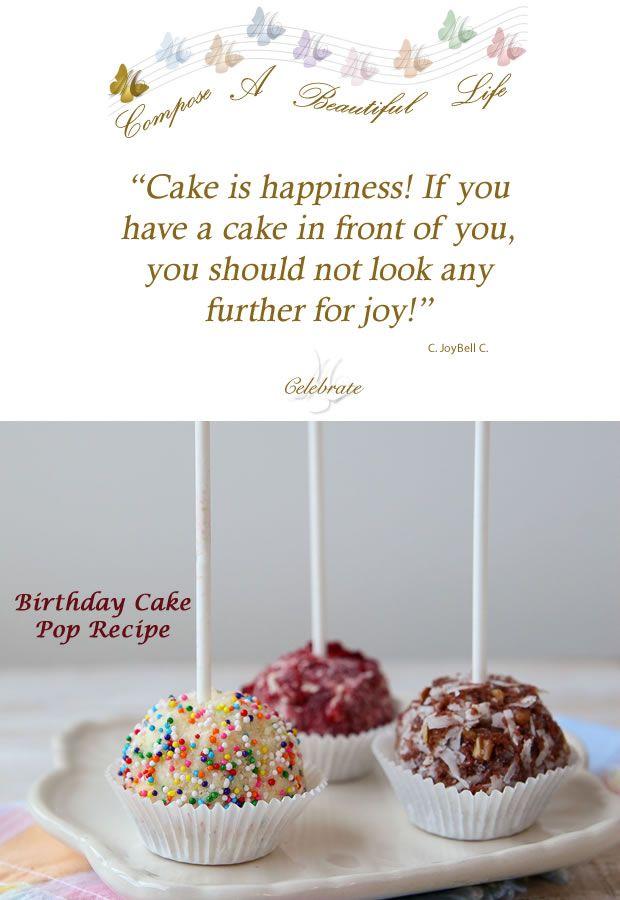 BIRTHDAY CAKE ICE CREAM CAKE POP Recipe  Recipes  Pinterest