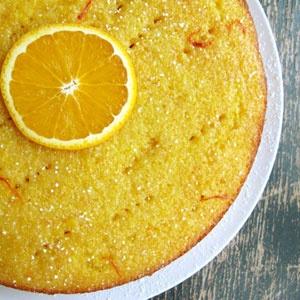 Flourless Orange-Saffron Cake   ingest_digest   Pinterest