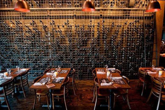 Restaurant Interior Design Wine Bar Wine Storage