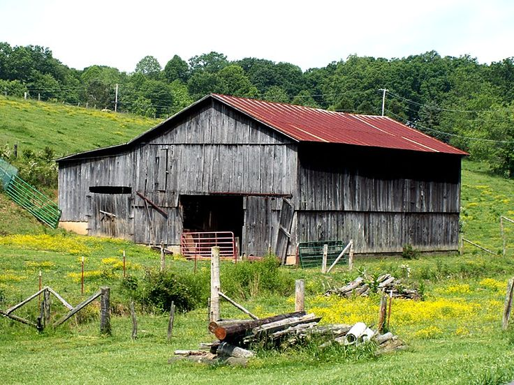 Great Old Barn In East Tennessee Barns Pinterest