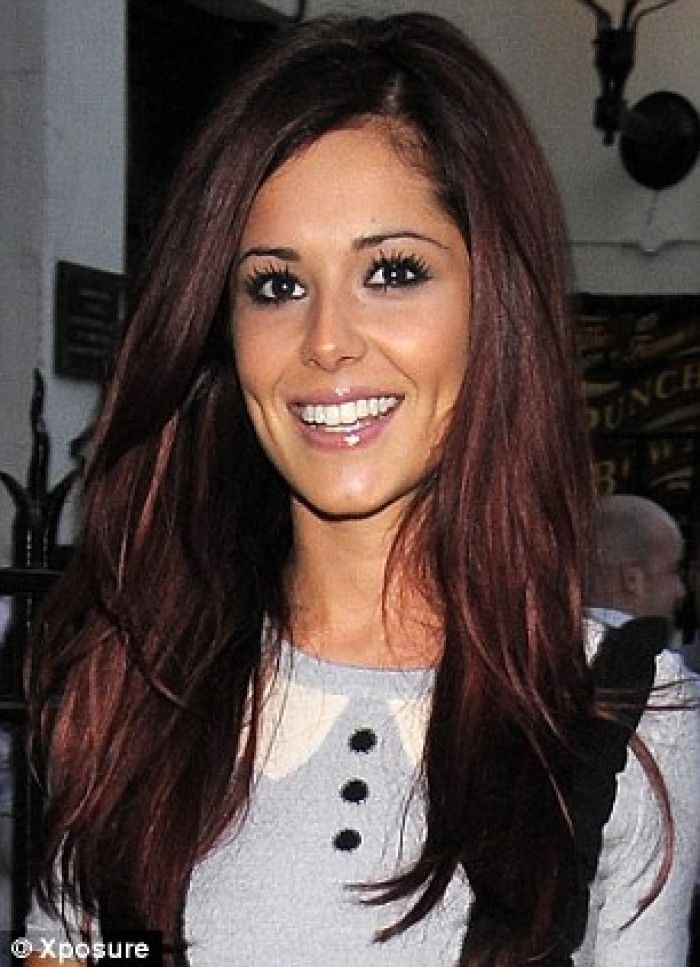 Dark cherry hair color coiffured amp beautified pinterest