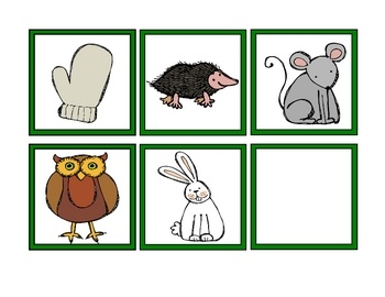 The Mitten Sequence Cards | Learning - Book Inspired | Pinterest