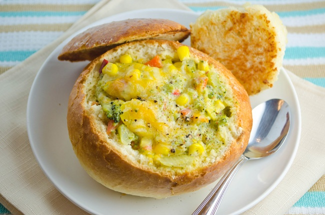 vegetable chowder | Yummy in my Tummy | Pinterest