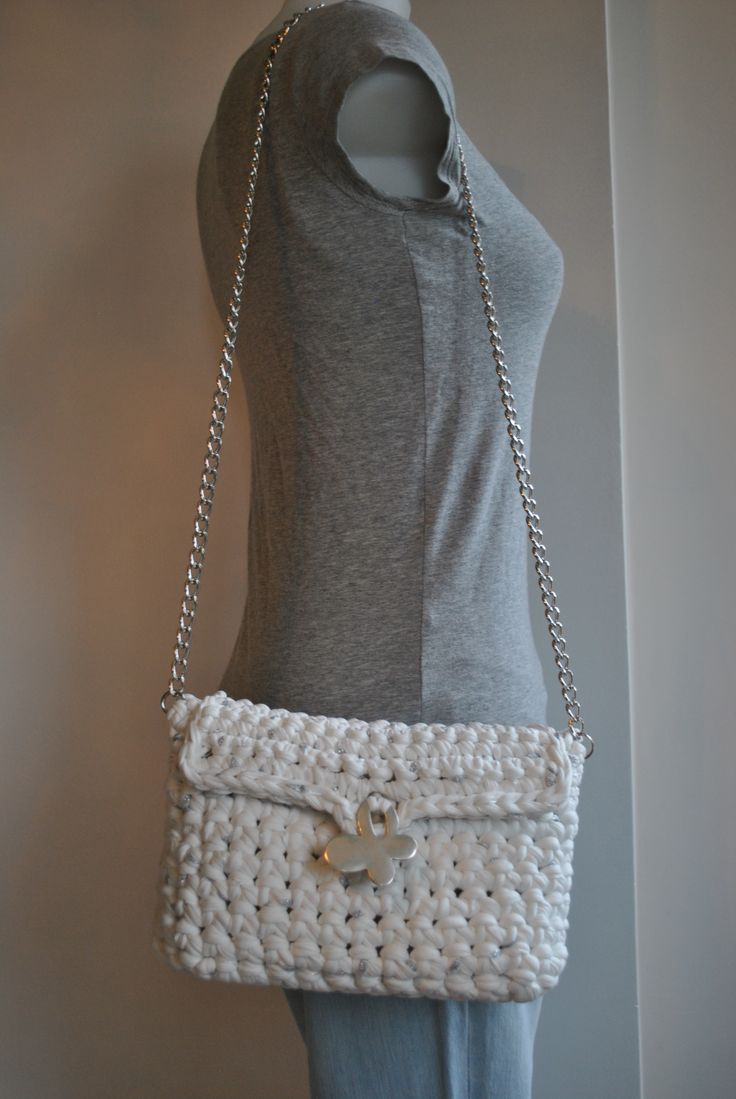 Crochet Bags Pinterest : Crochet bag Bags & purses Pinterest