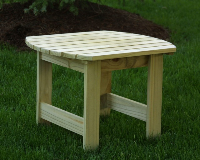 Adirondack side table natural diy ideas pinterest for Adirondack side table plans