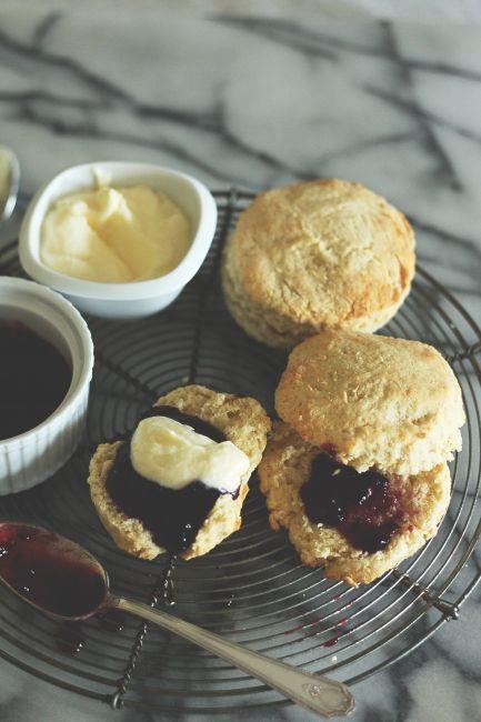 Cream Scones | Food | Pinterest