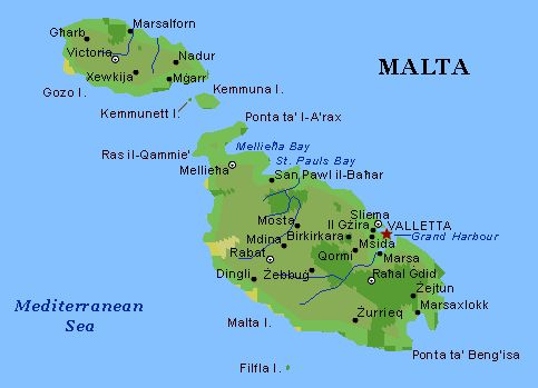 Where it is located malta history and family