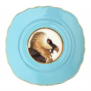 Upcycled Vintage 'Vulture' Bone China Side Plate