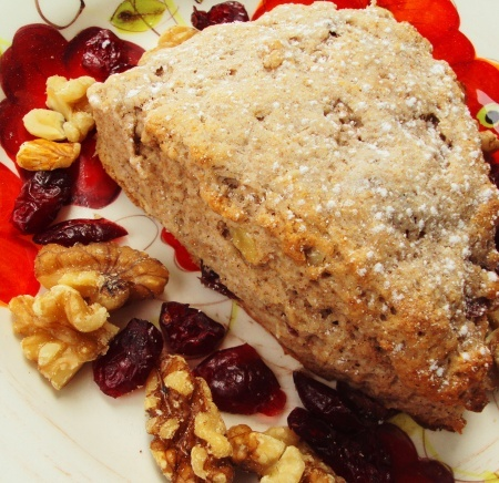 Spiced Cranberry Walnut Scones | Try It | Pinterest