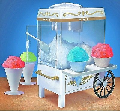 ... Electrics Vintage Snow cone maker machine,shaved ice Icee Countertop