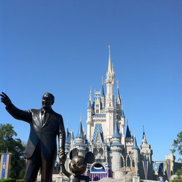 Magic Kingdom Partners statue