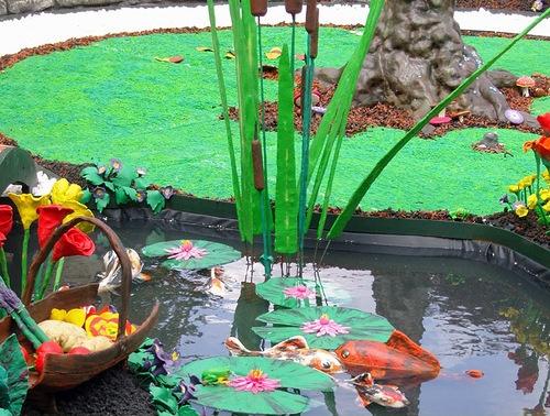 Пластилиновый сад
