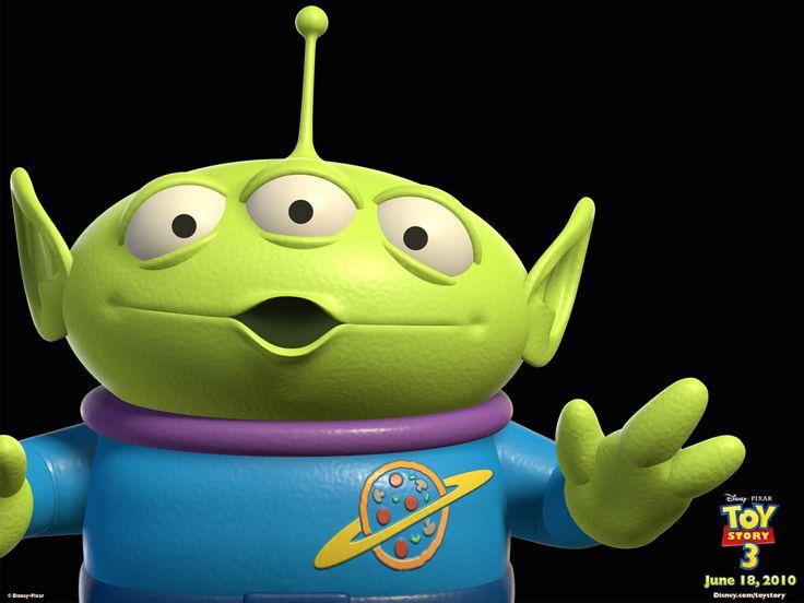 Alien from pizza planet :) | Astonomy | Pinterest  Toy