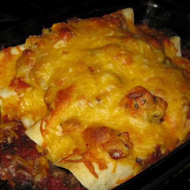 Breakfast Enchilada Ranchero   foods   Pinterest