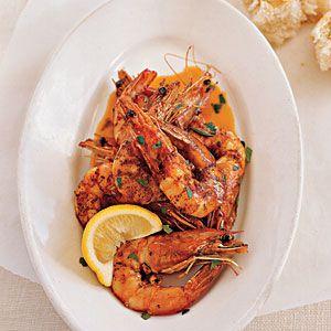 26 Favorite Shrimp Recipes | Fresh Gulf Shrimp in Barbecue Butter | CoastalLiving.com     Messy, but tasty for sure.