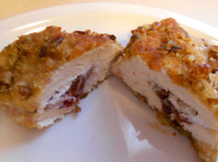 Cherry Pecan Stuffed Chicken Breasts | Main Dish Style | Pinterest