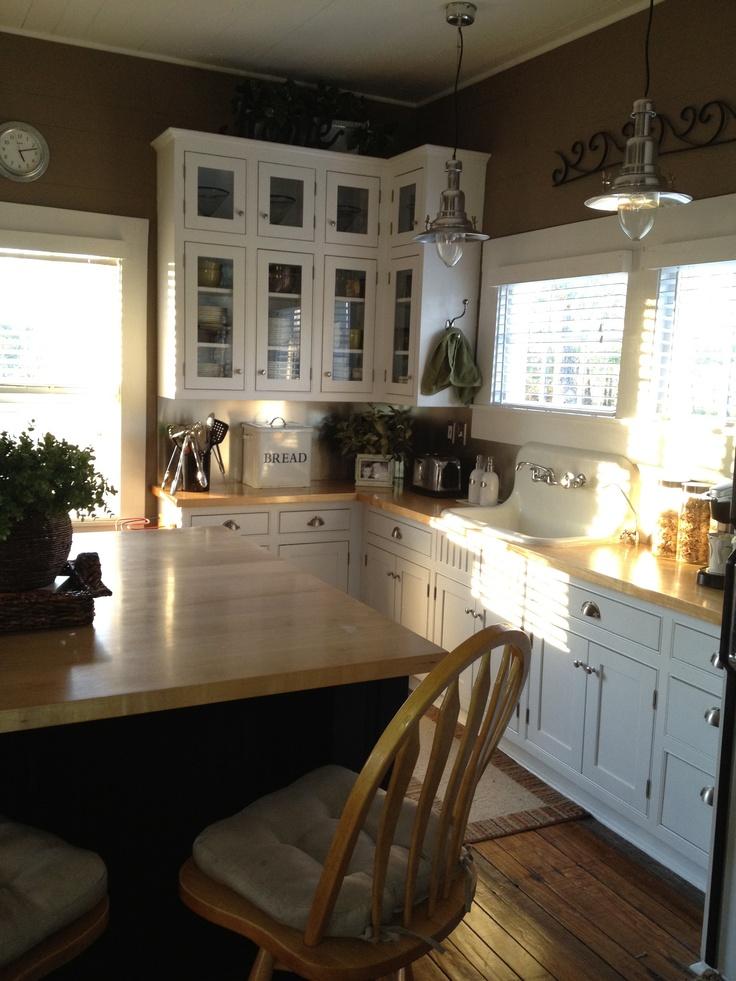 Farmhouse Kitchen Darker Colors House Beautiful