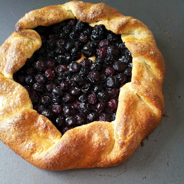 Blueberry Galette | Sweet Treats - Everything | Pinterest